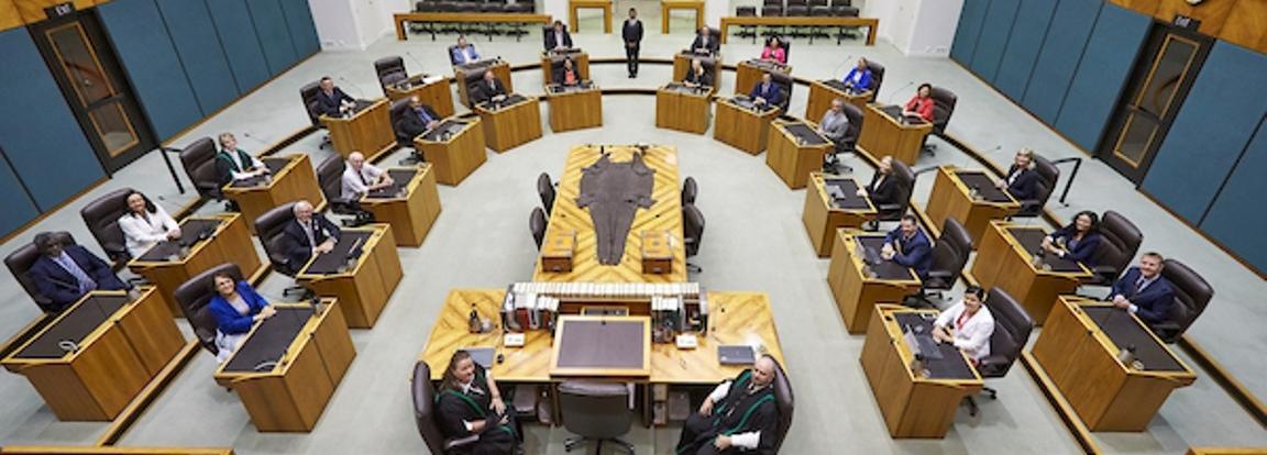 Members Chamber View